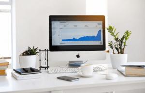 Computer screen statistics