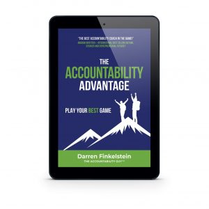 The Accountability Advantage ebook cover