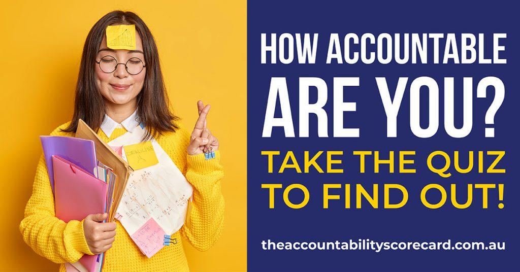 The Accountability Scorecard